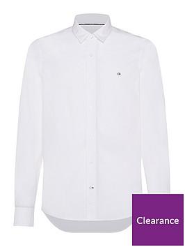 calvin-klein-slim-fit-stretch-poplin-shirt-white