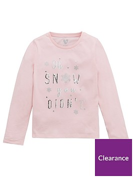 v-by-very-girls-christmas-sequin-oh-snow-you-didnt-long-sleeve-t-shirt-blush