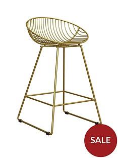 cosmoliving-by-cosmopolitan-ellis-wire-bar-stool--gold