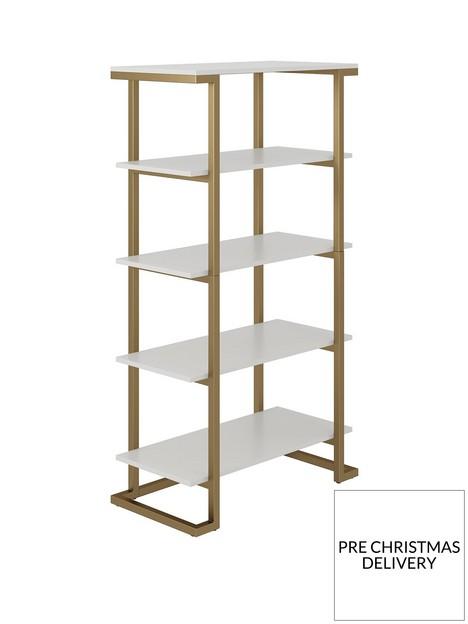 cosmoliving-by-cosmopolitan-camila-bookcase--nbspwhite
