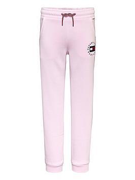 tommy-hilfiger-girls-heritage-logo-jogger-pink