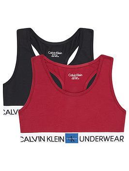 calvin-klein-girls-2-pack-logo-bralette-blackred
