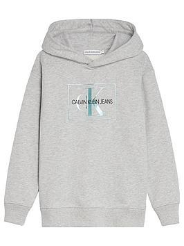 calvin-klein-jeans-girls-box-monogram-lurex-hoodie-grey-marl