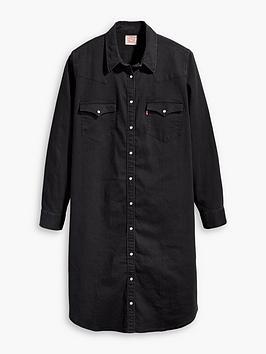 levis-plus-western-dress-black