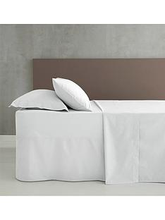 catherine-lansfield-easy-ironnbsppercale-extra-deep-fitted-sheet-ndash-white