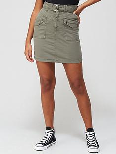 v-by-very-belted-thigh-pocket-skirt-khaki
