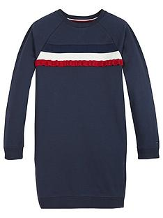 tommy-hilfiger-girls-ruffle-rib-sweat-dress-navy