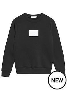 calvin-klein-jeans-boys-reflective-badge-sweat-black