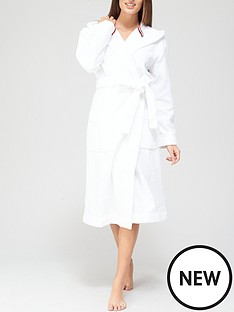 tommy-hilfiger-plain-robe-white