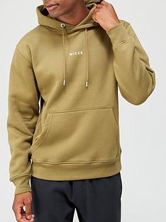 nicce-mini-centre-logo-hood-olive