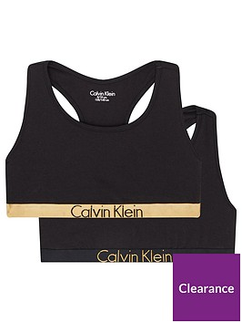 calvin-klein-girls-2-pack-gold-waistband-bralette-black