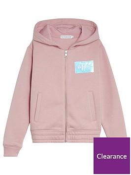 calvin-klein-jeans-girls-monogram-badge-zip-through-hoodie-pink