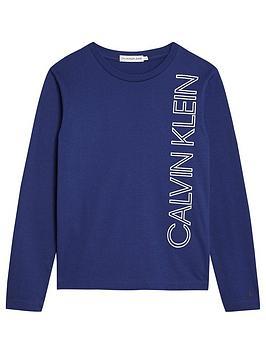 calvin-klein-jeans-boys-reflective-lines-long-sleeve-t-shirt-blue