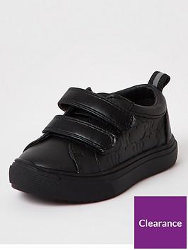 river-island-mini-mini-boys-monogram-trainers-black