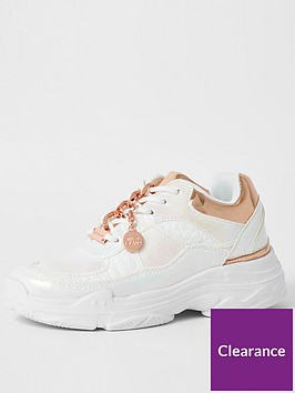 river-island-girls-irredescent-chunky-trainer--white