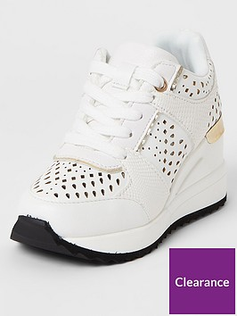 river-island-girls-lace-up-wedged-trainers--nbspwhite