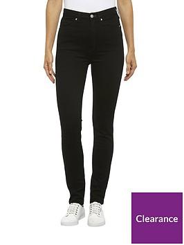 calvin-klein-jeans-ckj-010-high-rise-skinny-jeans-black