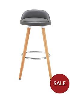 premier-housewares-normann-bar-stool--nbspgrey