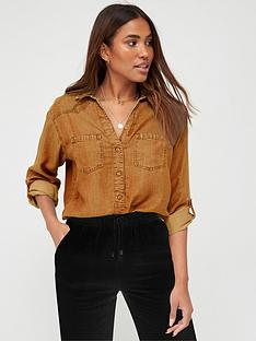 v-by-very-valuenbspsoft-touch-casual-shirt-caramel