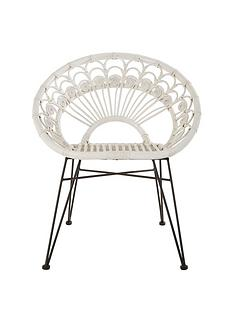 premier-housewares-manado-white-rattan-chair