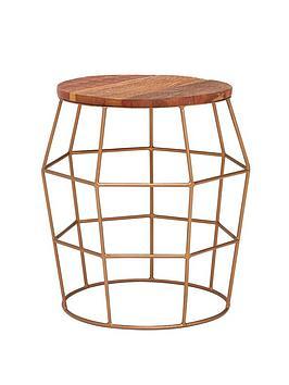 premier-housewares-nandri-lamp-table