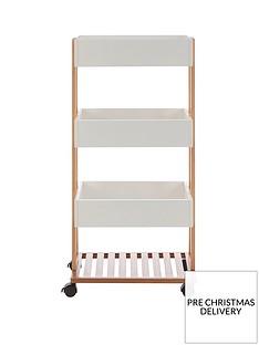 premier-housewares-nostra-4-tier-storage-trolley