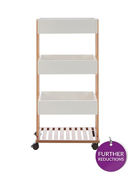 premier-housewares-nostra-4-tier-storage-trolley