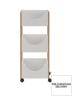 premier-housewares-nostra-3-tier-storage-trolley