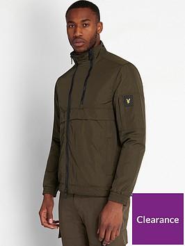 lyle-scott-casuals-double-zip-jacket-khaki