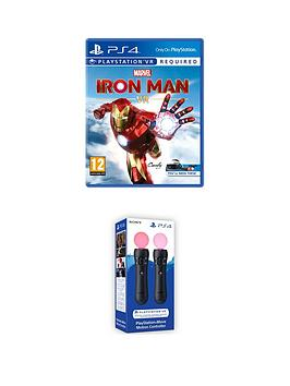 PlayStation VR Playstation Vr Marvel'S Iron Man Vr &Amp; Ps Move  ... Picture