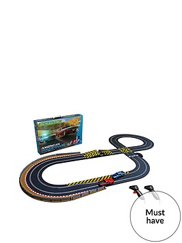 scalextric-american-police-chase-amc-javelin-police-car-v-dodge-challenger