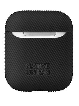 native-union-smooth-silicone-curve-case-for-airpods-black