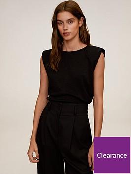 mango-glitter-padded-shoulder-t-shirt-black