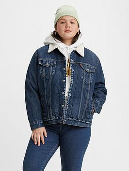 levis-plus-ex-bf-sherpa-trucker-jacket-blue