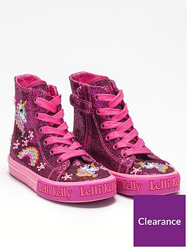 lelli-kelly-girlsnbspabigail-unicorn-mid-high-top-pink