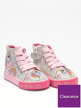 lelli-kelly-girlsnbspabigail-baby-high-top-trainer-silver