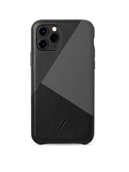 native-union-nu-clic-marquerty-for-iphone-11-pro-black