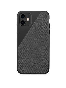 native-union-nu-clic-canvas-for-iphone-11-black