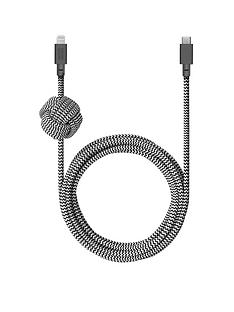 native-union-nu-night-cable-usb-c-to-lightning-zebra