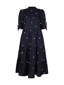 monsoon-organic-cotton-poplin-spot-dress-navy