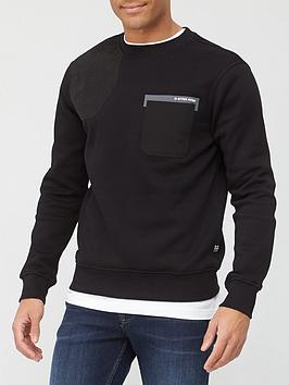 g-star-raw-mixed-fabric-patch-detail-sweat