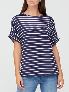 v-by-very-roll-sleeve-tunic-top
