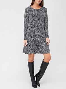 v-by-very-jacquard-frill-hem-mini-dress-animal