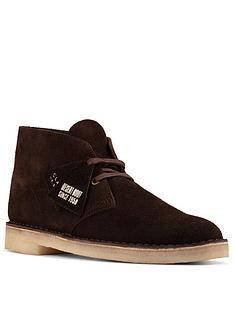 clarks-oakland-top-nubuck-boots-dark-brown
