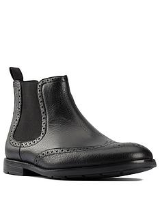 clarks-ronnie-top-leather-chelesea-boots