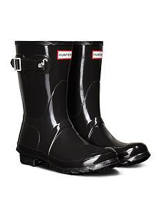 hunter-original-short-gloss-welly-boots-black