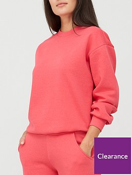 v-by-very-relaxed-fitnbspsweat-top-pink
