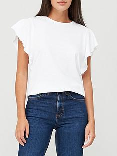 v-by-very-frill-sleeve-t-shirt-white