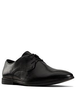 clarks-bampton-park-leather-shoes-black