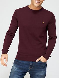 farah-mullen-cotton-sweater-rednbsp